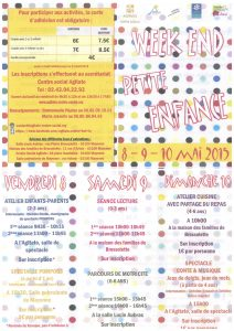 AGITATO Programme week-end petite enfance