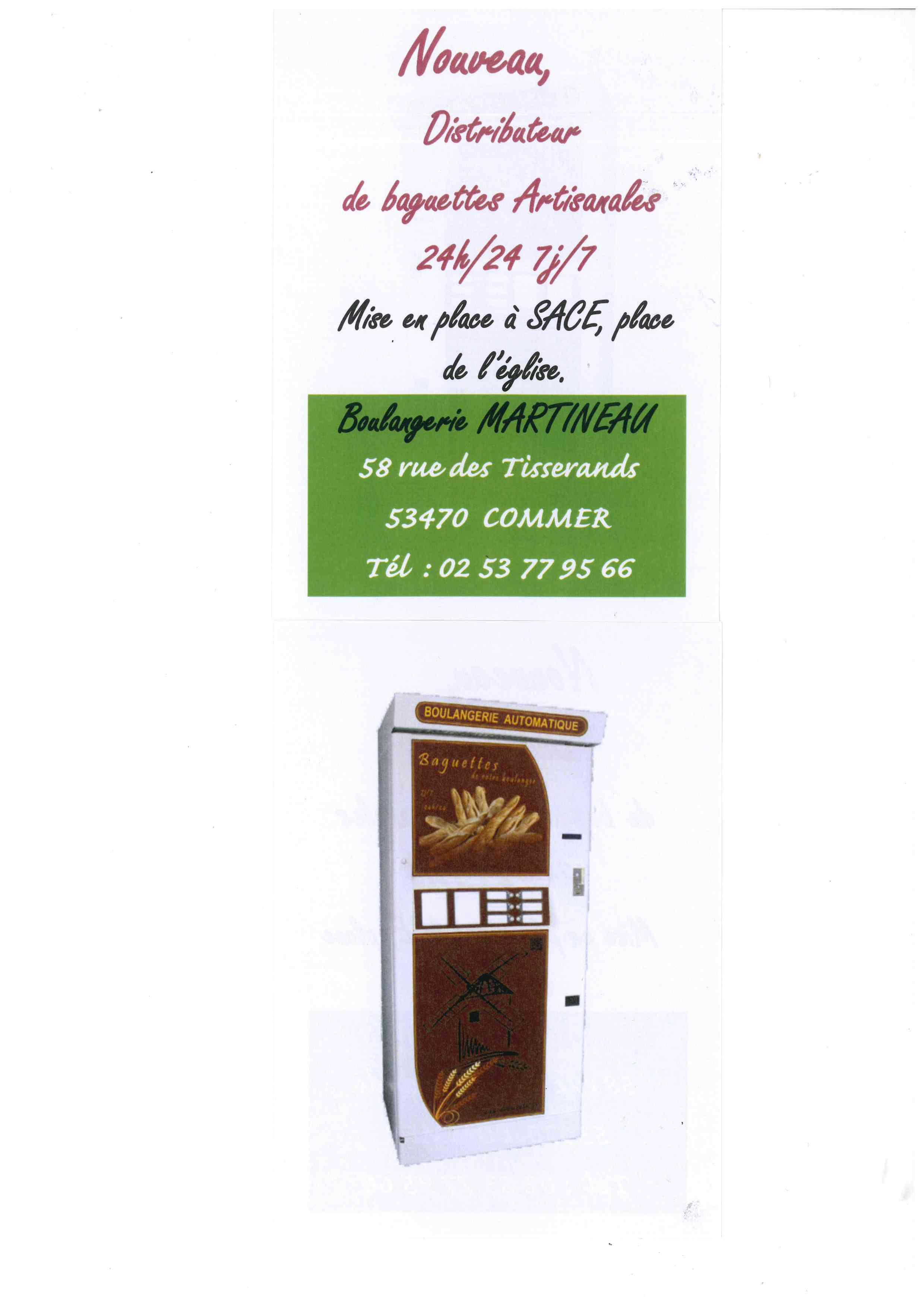 Distributeur à baguettes