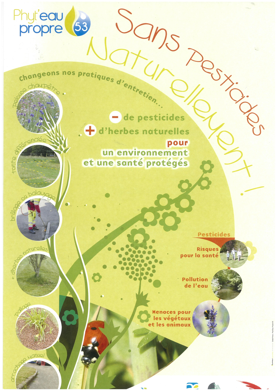 Affiche SANS PESTICIDES