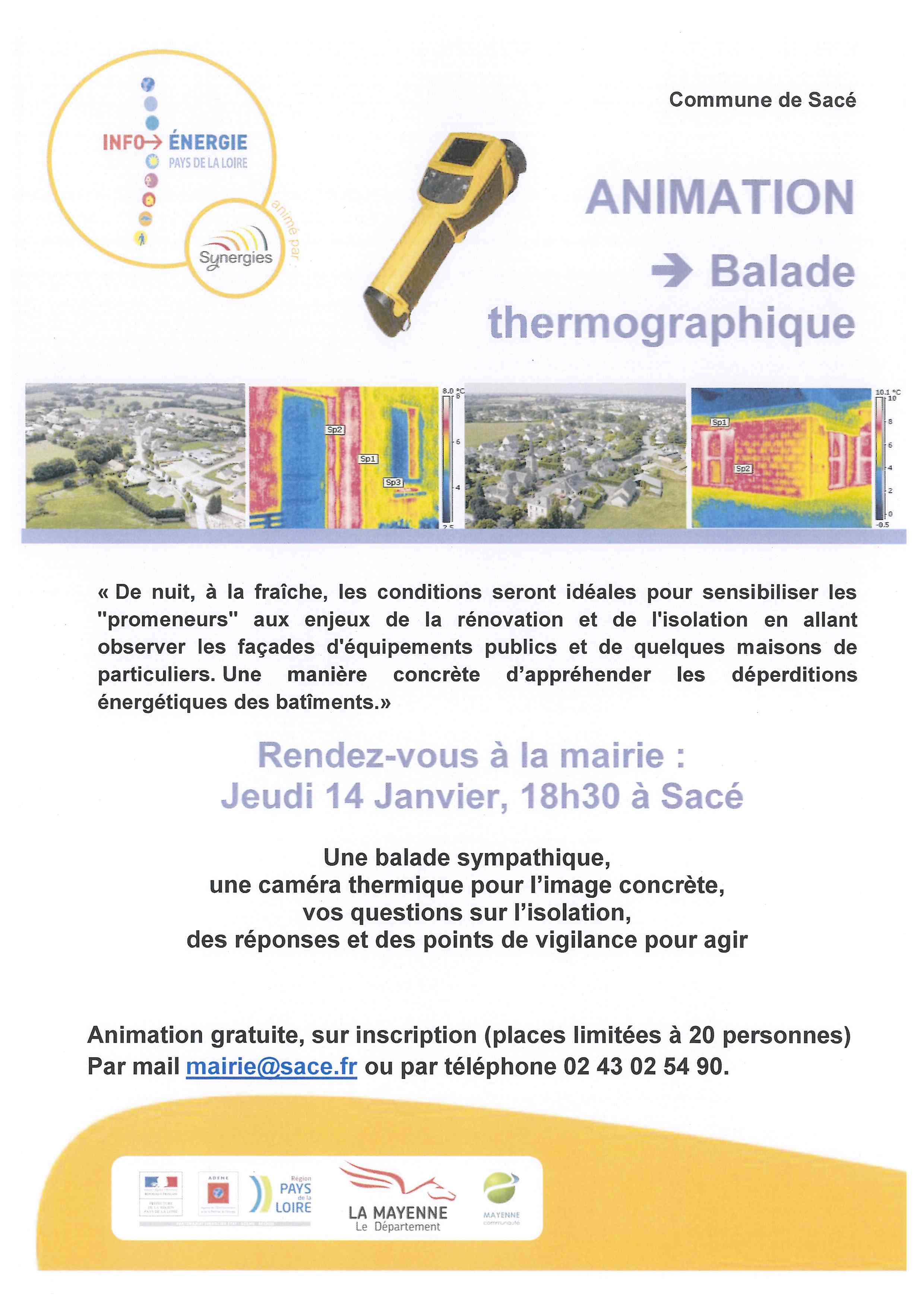 SYNERGIE Invitation balade thermographique