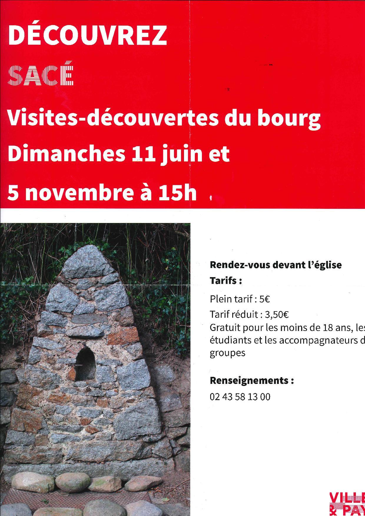 Découvrez Sacé.... @ Eglise | Sacé | Pays de la Loire | France