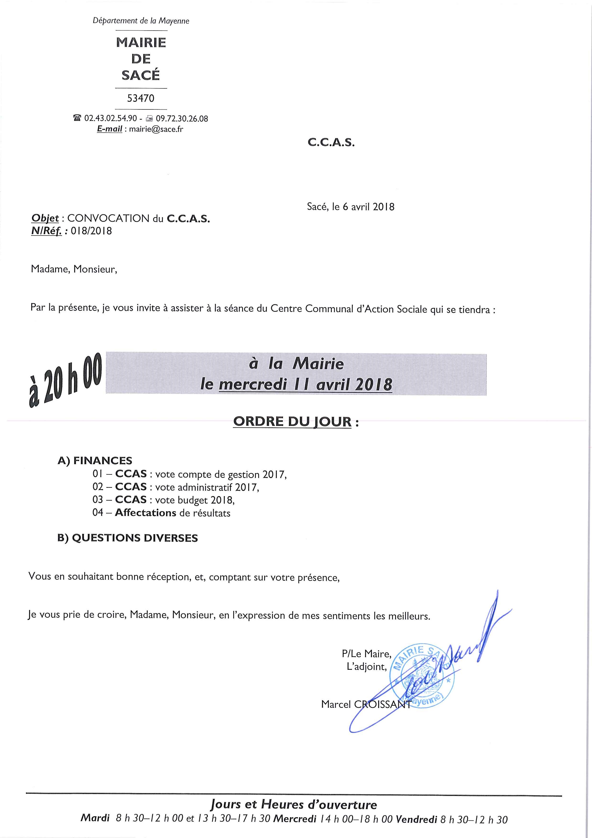 CCAS @ Mairie de Sacé - salle du conseil municipal | Sacé | Pays de la Loire | France