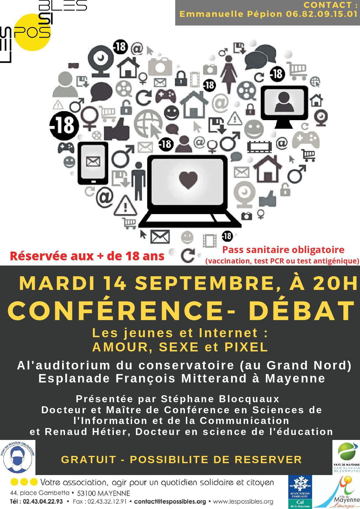 """Conférence-débat """"les jeunes et internet"""" @ Le Grand Nord"""